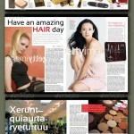 32 pages hair nails magazine